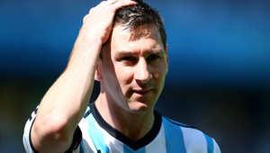 لاعب المنتخب الأرجنتيني ليونيل ميسي
