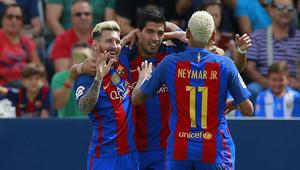 """برشلونة يضرب مضيفه ليغانيس بخماسية في """"الليغا"""""""