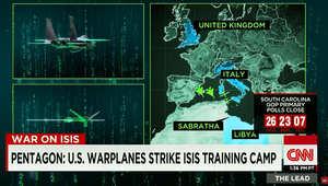 الحكومة الليبية تدين الغارات الأمريكية التي استهدفت مقرا لداعش في صبراتة