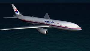 العثور على جزء من حطام قد يعود للطائرة الماليزية