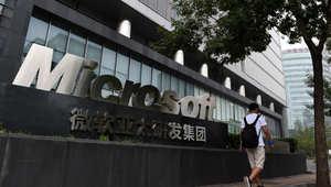 صورة لمقر مايكروسوفت في العاصمة الصينية بكين