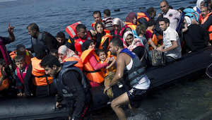 "مصرع وفقدان عشرات اللاجئين في غرق قاربين ببحر ""إيجه"""