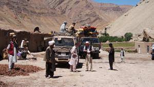 فريق استكشافي يزور موقع المنارة في أفغانستان
