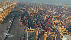 جولة في ميناء جبل علي.. الأكبر من نوعه بالعالم