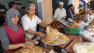 الخبز المغربي
