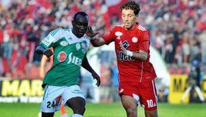 من إحدى مباريات الدوري المغربي