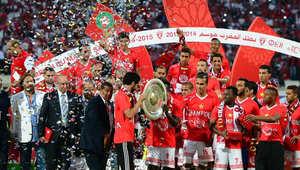 فعاليات الوداد البيضاوي تحتفل بتسلم درع البطولة المغربية الإحترافية
