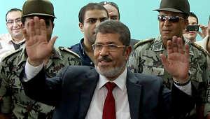 مصر.. حبس مرسي 15 يوماً على ذمة قضية تزوير الانتخابات الرئاسية