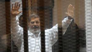 """تأجيل محاكمة مرسي بـ""""التخابر"""".. إحالة 4 """"قاعديين"""" للمفتي والبراءة لـ""""شبكة حمام رمسيس"""""""