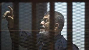 """تأجيل محاكمة مرسي بـ""""التخابر مع قطر"""" لـ16 ديسمبر"""