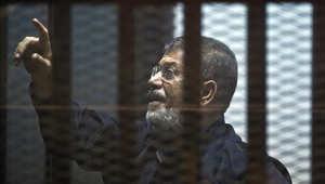 """مصر.. تأجيل محاكمة مرسي بقضية """"التخابر مع قطر"""""""