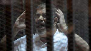 """بالفيديو.. كلمة """"أنت"""" تثير مشادة بين مرسي ورئيس محكمة """"التخابر مع قطر"""""""