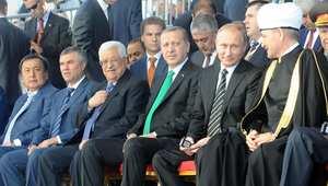 """بوتين """"يغازل"""" المسلمين بافتتاح """"جامع موسكو الكبير"""" في """"يوم عرفات"""""""