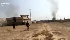 معارك عنيفة قرب الموصل بين البشمرغة وداعش