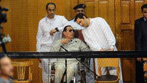 """مبارك ونجلاه أمام المحكمة مجدداً 4 أبريل بقضية """"القصور الرئاسية"""""""