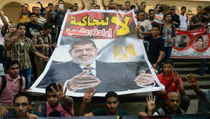 """تأجيل محاكمة مرسي بقضية """"وادي النطرون"""" لـ23 أبريل"""