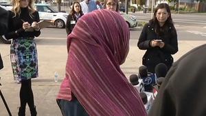 طالبة مسلمة في أمريكا تتعرض للاعتداء بسبب حجابها: الإرهاب لا يمثلني