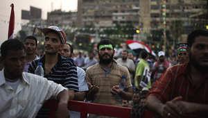 صورة أرشيفية لمظاهرة مؤيدة للرئيس السابق محمد مرسي في القاهرة