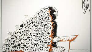 كاريكاتير مشارك
