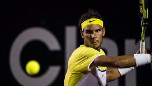 لاعب التنس الإسباني رافائيل نادال