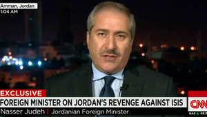 وزير خارجية الأردن لـCNN: حذرنا لسنوات من تفجر الأوضاع باليمن.. وكلمة ولي العهد الأردني سابقة بمجلس الأمن