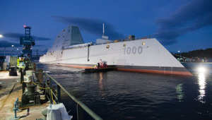 السفينة الحربية الأمريكية USS Zumwalt