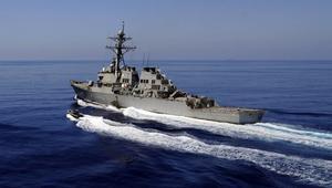 مدمرة أمريكية تصطدم بسفينة تجاريةقرب السواحل اليابانية