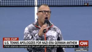 أمريكا تعتذر بعد غناء نشيد نازي بمباراة للتنس