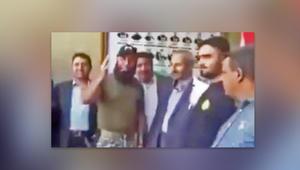 """وفد الحوثي ينقل ترحيب العراق بزيارته ويستمع لتهديد """"أبوعزرائيل"""" للسعودية"""