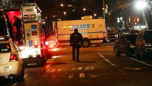 """أمريكا: """"اغتيال"""" ضابطي شرطة رمياً بالرصاص في نيويورك و""""انتحار"""" منفذ الهجوم"""