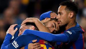 نيمار يزور برشلونة ويلتقي ميسي وسواريز