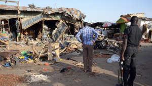 """نيجيريا.. 14 قتيلاً و47 جريحاً بتفجير نفذته """"انتحارية مختلة"""""""