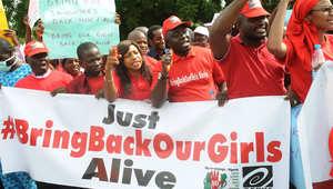 """رئيس نيجيريا يقبل عرضاً بريطانياً للبحث عن """"سبايا بوكو حرام"""""""