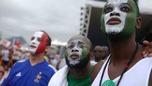 مشجعو منتخب نيجيريا بكأس العالم
