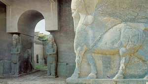 مدينة نمرود الآثرية بالقرب من محافظة نينوى