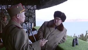 كيم جونغ أون يختبر الصواريخ الباليستية من جديد
