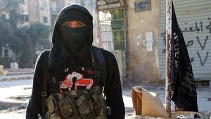 أحد مقاتلي جبهة النصرة في سوريا