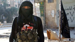 أحد مقاتلي جبهة النصرة في حلب