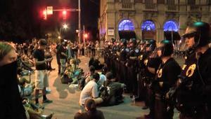 مظاهرات حاشدة ضد عنف الشرطة في نيويورك