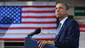 أوباما: من الجنون السماح لممنوعين من السفر جواً بحيازة أسلحة