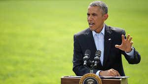 """أوباما: كسرنا """"حصار سنجار"""" والجيش الأمريكي سيغادر العراق قريباً"""