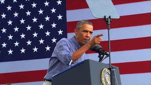 أوباما: جيشنا لن يكون له مهام قتالية في العراق ضد داعش ولن يكون هناك حرب برية