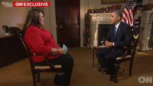 """أوباما يوضح لـCNN معيار وضع دولة بقائمة """"الدول الداعمة للإرهاب؟"""" وإن كان سيضيف كوريا الشمالية ويُخرج كوبا من القائمة؟"""