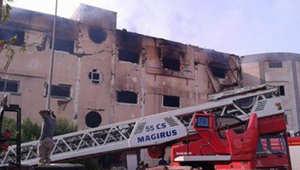 """""""كارثة"""" جديدة في مصر.. 25 قتيلاً في حريق بمدينة """"العبور"""""""