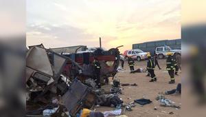 الخارجية المصرية: مقتل 7 وإصابة 16 في حادث انقلاب حافلة تقل معتمرين في الطائف بالسعودية