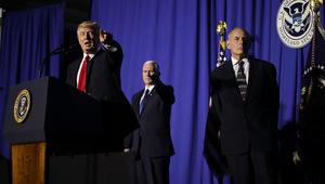 ترامب يعد بمناطق آمنة في سوريا ويؤكد: تنظيم الهجرة لا يستهدف المسلمين