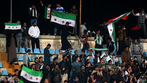 فريق يمثل المعارضة السورية يلعب مباراته الأولى في برلين