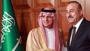 الجبير: نتقاسم عدة مواقف مع تركيا.. وأوغلو:ندعم السعودية في عملياتها باليمن