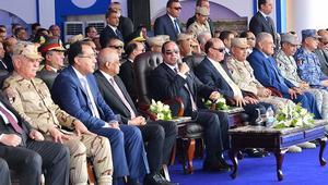 """السيسي: الجيش """"سيقوم بكل العنف"""" لوضع حد للإرهاب في سيناء"""