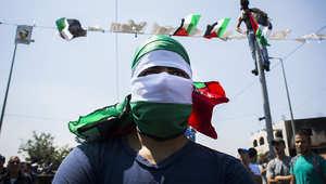 فلسطيني يشارك في المواجهات مع الجيش الإسرائيلي الجمعة بالقدس
